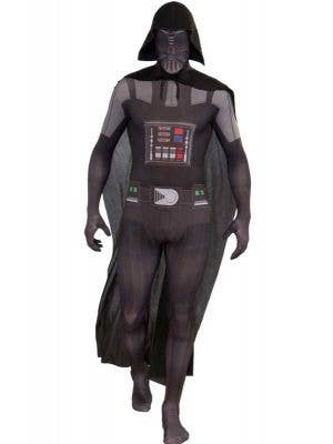 Men's Darth Vader Star Wars Second Skin Costume Front