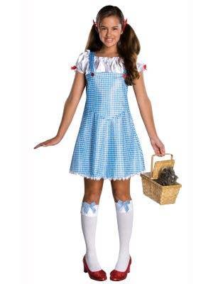 Teen Girls Dorothy Book Week Costume Main Image