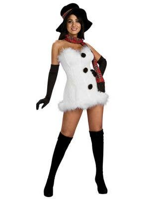 Frosty The Snowgirl Women's Sexy Xmas Costume