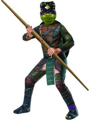 Donatello Boy's Teenage Mutant Ninja Turtle Costume Front View