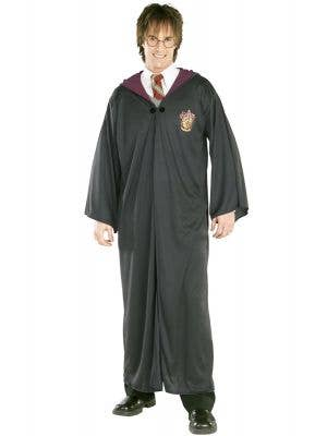 Harry Potter Adults Gryffindor Hogwarts Fancy Dress Costume Robe front view