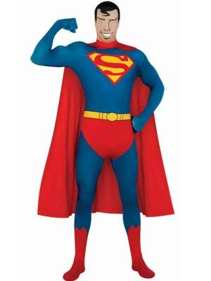 Superman Adult Second Skin Costume