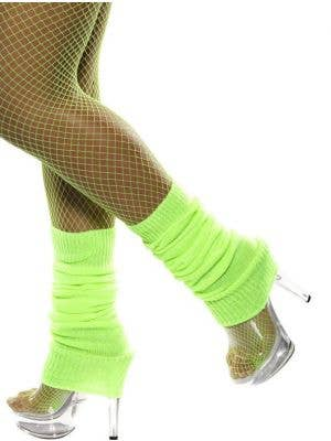 Back to the 80's Neon Green Leg Warmers