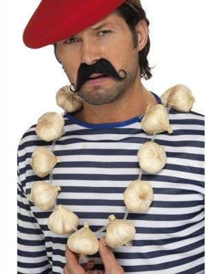 French Novelty Garlic Garland Costume Accessory