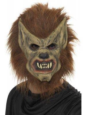 Full Face Warewolf Horror Latex Mask Main Image