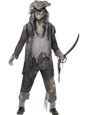 Ghost Ship Ghoul Men's Halloween Costume
