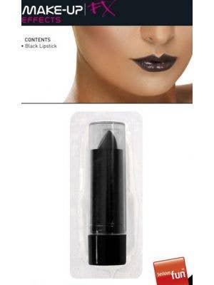 Gothic Black Lipstick Costume Makeup