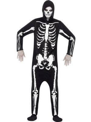 Skeleton Onesie Men's Halloween Costume