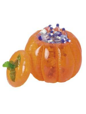 Inflatable Pumpkin Halloween Drink Cooler