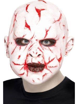Scar Face Adult's Latex Halloween Mask