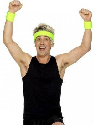 Neon Green Sport Sweatbands