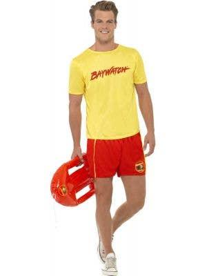Men's Baywatch Lifeguard Costume Main Image