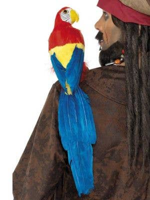 Shoulder Feather Pirate Parrot