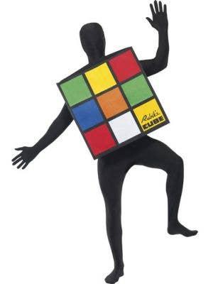 Rubik's Cube Adults Fancy Dress Costume