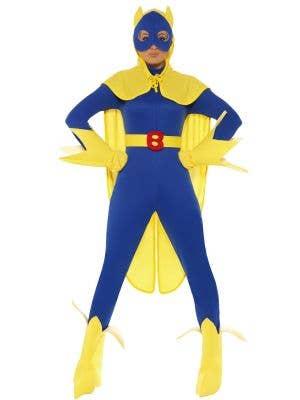 Women's Superhero Bananaman Costume Image 1
