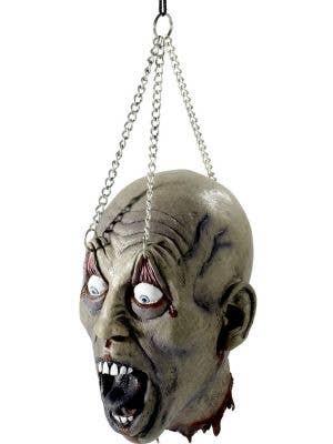 Dismembered Latex Head Halloween Decoration