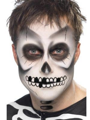 Skeleton Greasepaint Halloween Makeup Kit