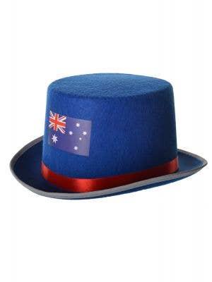 Australian Flag Blue Feltex Australia Day Top Hat