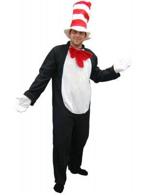 Adults Cat In The Hat Dr Seus Book Week Costume