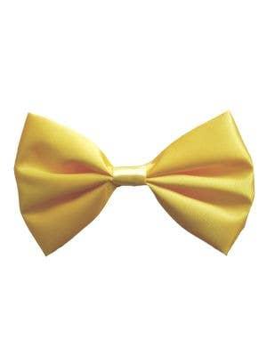 Yellow Satin Clown Costume Bow tie Accessory