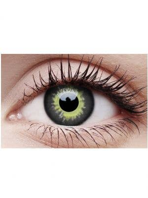 Eclipse Creepy Yearly Coloured Halloween Contact Lenses