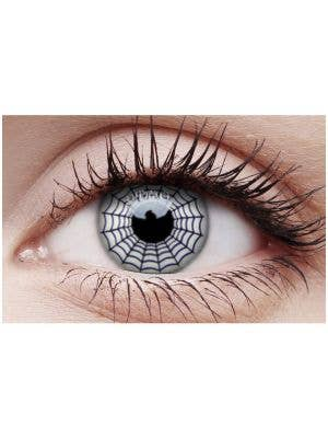Spider Web Halloween 90 Day Wear Contact Lenses