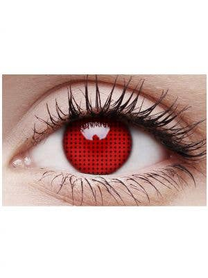 Crazy Red Screen 90 Day Wear Contact Lenses