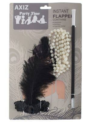 Instant 1920's Gatsby Flapper Costume Accessory Set