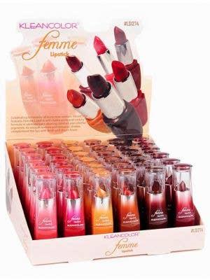 KleanColor Hydra Glide Lipstick - Medium-Dark Colour Choice