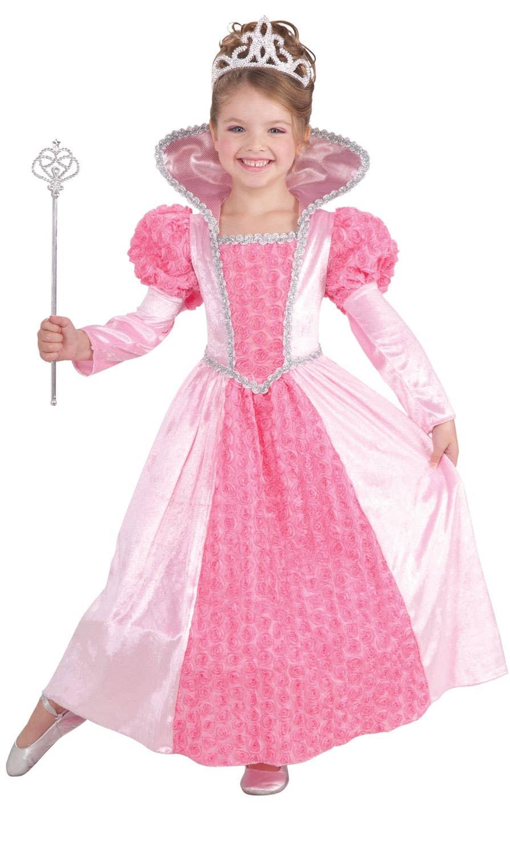 Princess Rose Fairytale Girls Fancy Dress Costume Genuine Forum ...