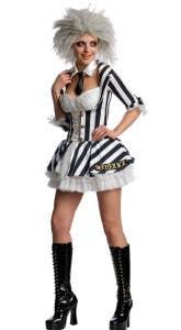 Beetlejuice Sexy Women's Halloween Costumes