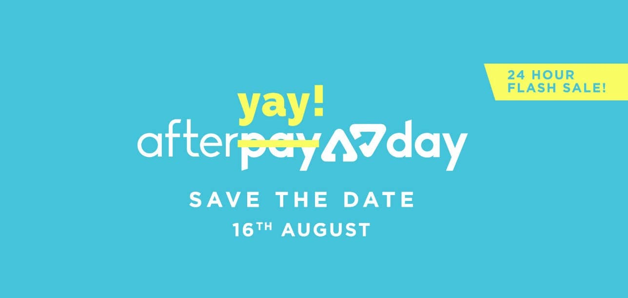 AfterYay Day 24 Hour Sale August 16th 2018