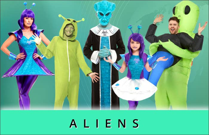 Shop All 2021 New Worlds Alien Book Week Costume Ideas at Heaven Costumes Australia