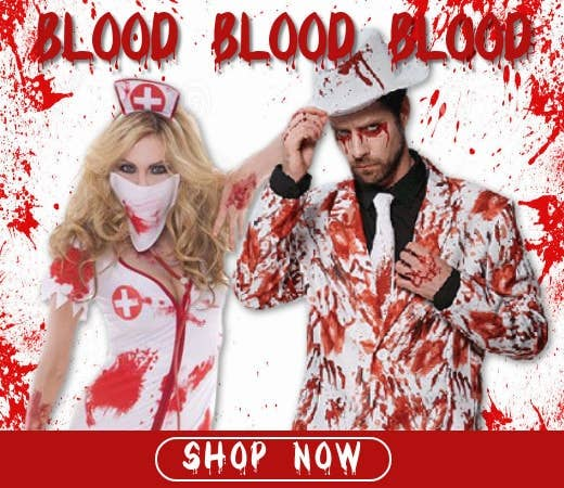 Shop Blood Themed Halloween Costumes