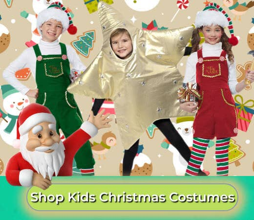 Shop Boys and Girls Christmas Dress Up Costumes for 2019