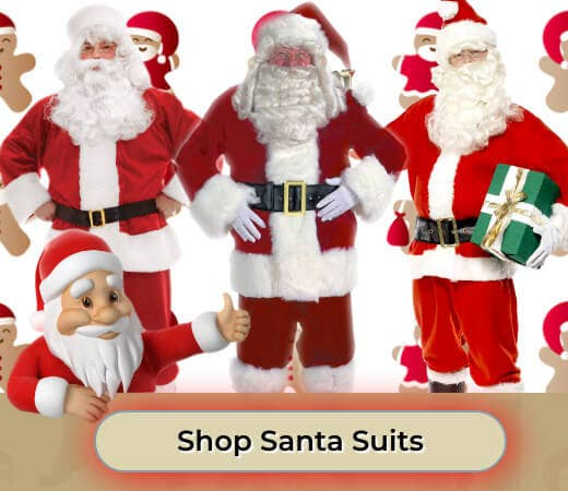 Shop Santa Suit Father Christmas Costumes for 2019 Online Now