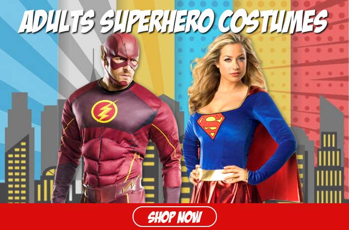 Shop 2019 Book Week Superhero Costumes for Adults Online in Australia