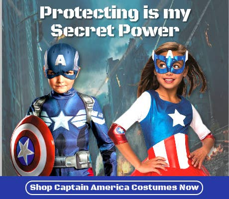 Buy 2019 Book Week Captain America Costumes for Adults and Kids Online