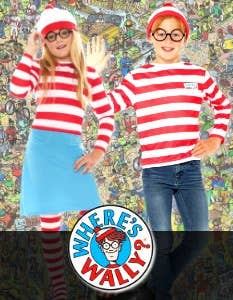 Shop Where's Wally Costumes at Heaven Costumes Australia