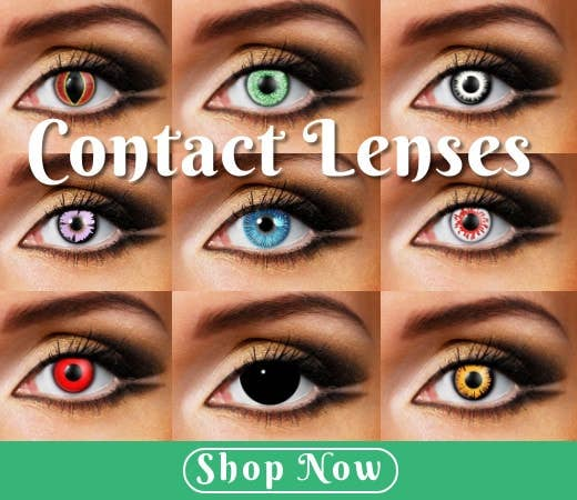 Shop Halloween Themed Contact Lenses