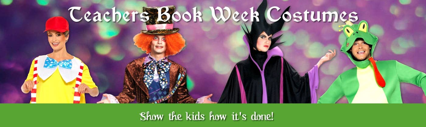 Shop All Teachers Book Week Costume Ideas for 2018