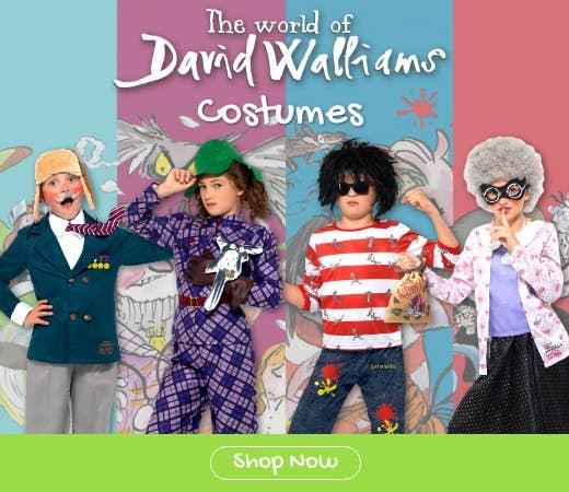 Shop Kids David Walliams Book Week Costumes for 2018 Online