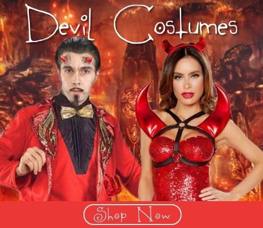 Shop Devil Themed Halloween Costumes