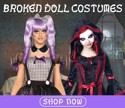 Shop Doll Themed Halloween Costumes