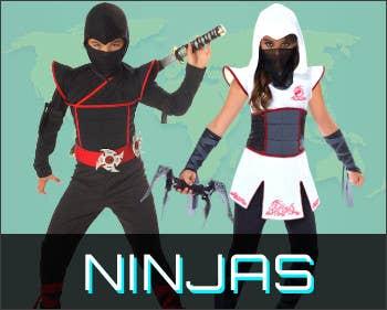 Shop All Ninja Book Week Costumes for 2021 at Heaven Costumes Australia