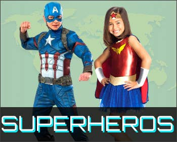 Shop All Superhero Book Week Costumes for 2021 at Heaven Costumes Australia