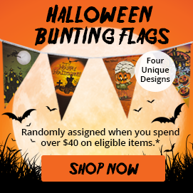 Free Gift Bunting Flags