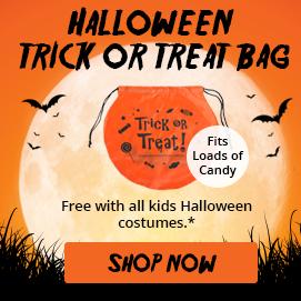 Free Gift Trick or Treat Bag