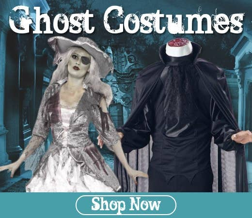 Shop Ghost Themed Halloween Costumes