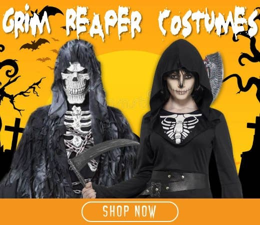 Shop Grim Reaper Themed Halloween Costumes